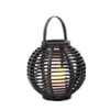 Battery Operated Round Rattan Lantern Garden Light (small Size) -led Garden Decorative Lights Outdoor