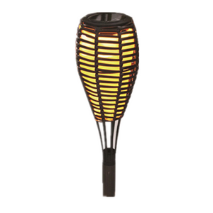 Solar Rattan Torch-LED Garden Decorative Lights Outdoor Patio Light