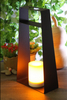 Solar Powered Metal Lantern - Large Size--LED Garden Decorative Lights Outdoor