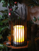 Solar Powered Metal Lantern ( Middle Size)-LED Outdoor Garden Decorative Lights
